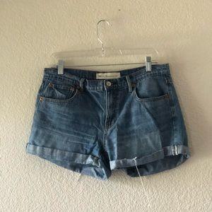 Mid length Denim Shorts by Gap